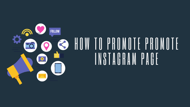 Promote instagram page