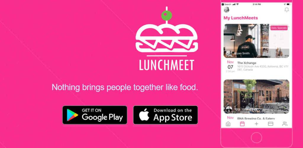 lunchmeet Alternatives to Linkedin