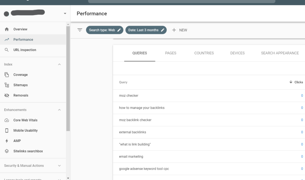 google search console free keyword planner