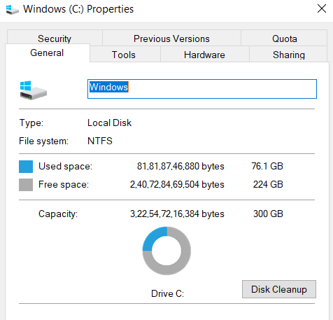 disk cleanup-how to speed up laptop
