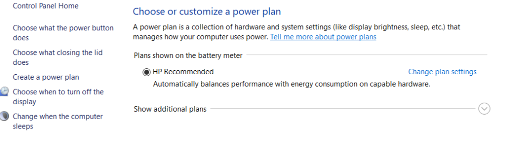 power saving -how to speed up laptop